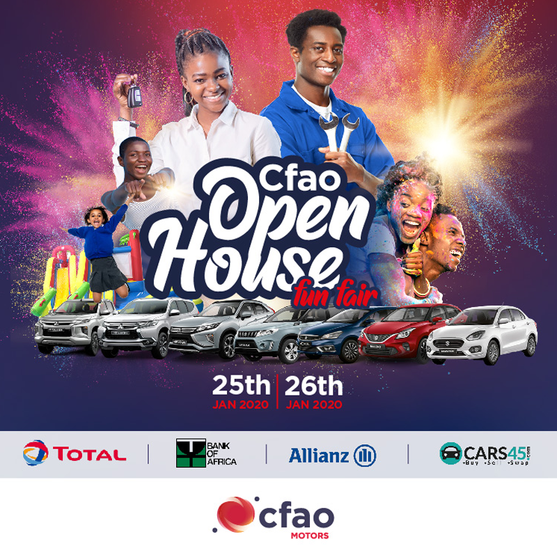 CFAO organizes Open House Fun Fair on 25th/26th January 2020.