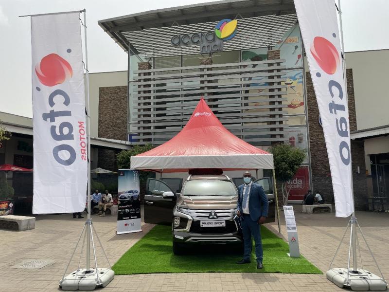 CFAO Unveils All-New Mitsubishi Pajero Sport